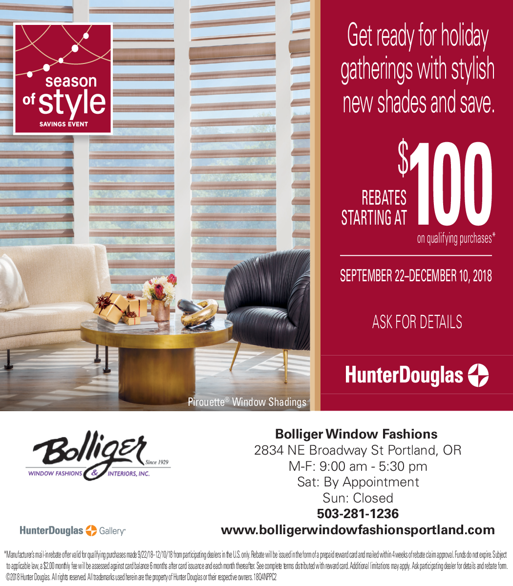 Season Of Style Saving Event In Portland OR Home Decor