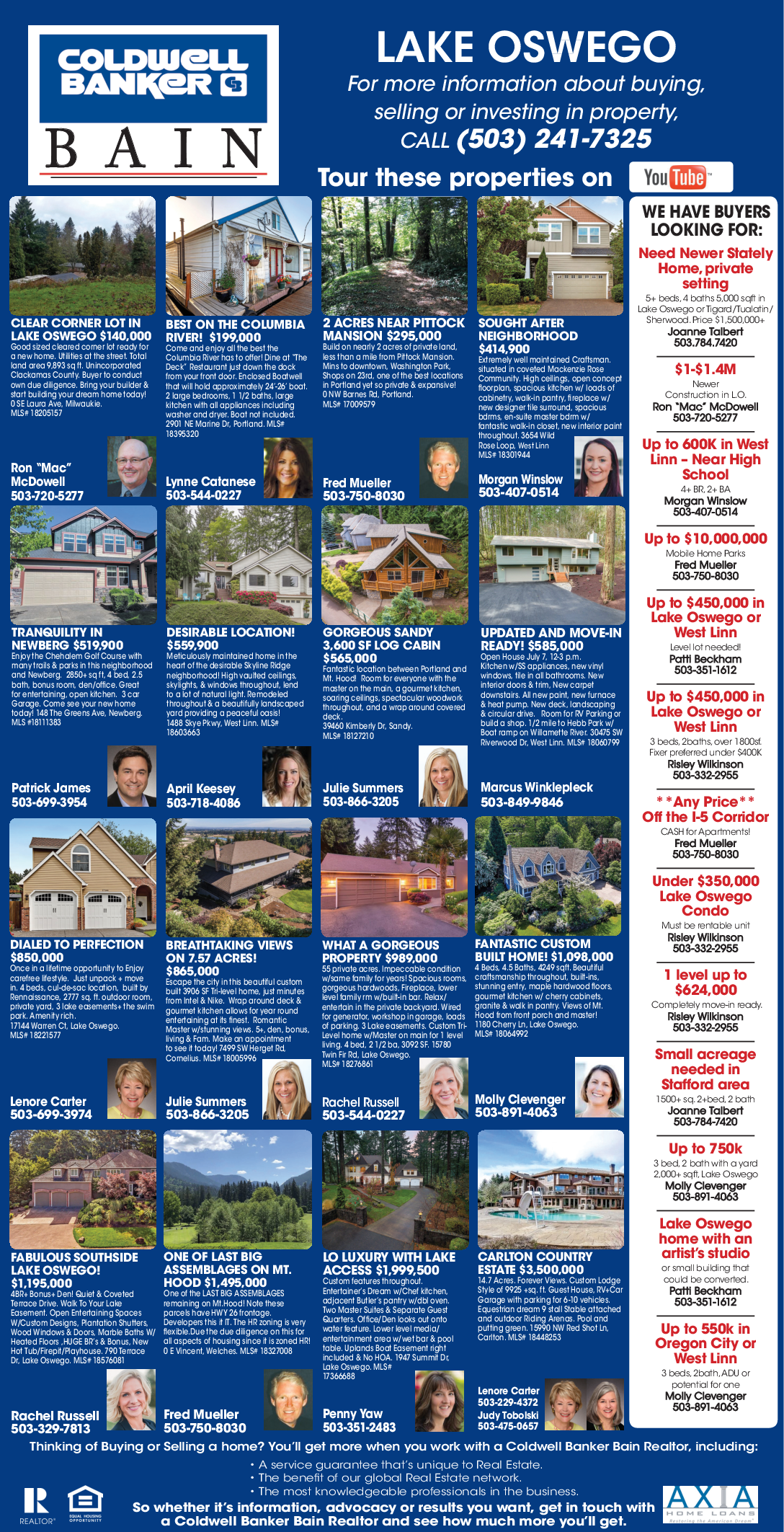 Best Residential U0026 Commercial Properties Available In Lake Oswego, OR, Real  Estate Agents   Coldwell Banker Bain ...