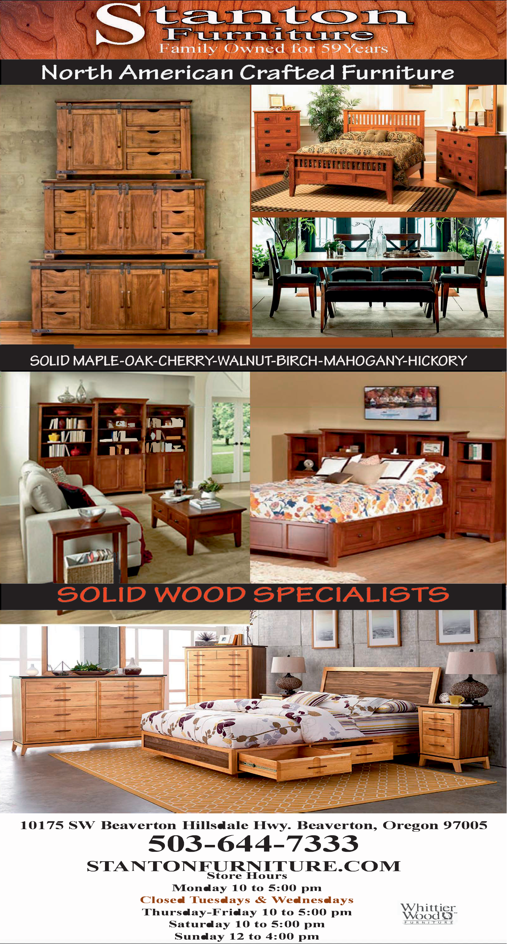 Superieur Quality Crafted Furniture In Beaverton, OR, Furniture   Stanton Furniture
